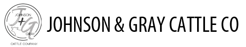 Johnson & Gray Cattle Company Logo
